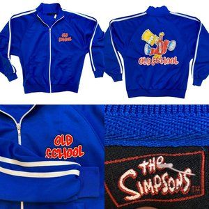 Vintage Bart Simpson Old School Track Jacket